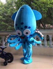 Adult Squid Mascot Costume Blue Fish Aquarium From Find Dress Cosplay Suit