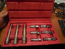 "MAC Tools 9 Piece Spark Plug Socket Set 3/8"" Drive 9/16, 5/8"", 13/16"" SPK9SET"
