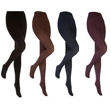 Heat Holders - Womens Thick Winter Warm Opaque Footed Insulated Thermal Tights