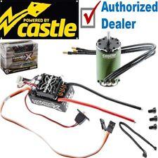 Castle Creations Sensored Mamba x WP ESC + 1410 3800Kv sans brosse SC Moteur