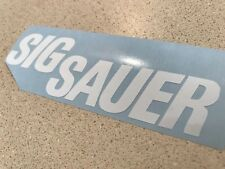 SIG SAUER Decal Sticker 47 Color Options