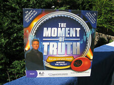 The Moment Of Truth Adult Lie Detector Game~New & Factory Sealed