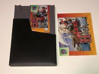 Hook w/Manual & Sleeve Nintendo Nes Near Mint Condition Authentic