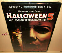 HALLOWEEN 5 the Revenge of Michael Myers DVD Donald Pleasence Alan Howarth