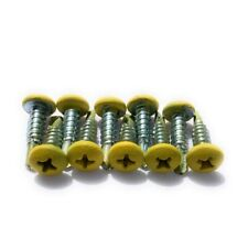 10 Yellow Lacrosse Head Screws Brand New with Free Shipping