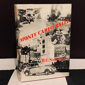 HAND SIGNED REGGIE TONGUE MONTE CARLO RALLY BOOK 1936 H.E. SYMONS HOTCHKISS