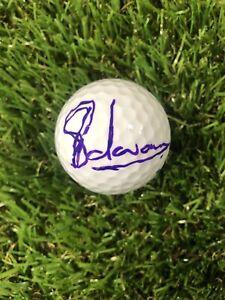CHARL SCHWARTZEL HAND SIGNED NIKE GOLF BALL MASTER WINNER 2011 THE OPEN PGA COA