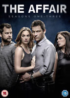 The Affair: Seasons 1-3 DVD (2017) Dominic West cert 15 12 discs ***NEW***