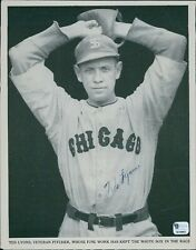 Ted Lyons Chicago White Sox 8x10 Magazine Page Global Authenticated