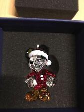 Swarovski CHRISTMAS ORNAMENT MICKEY MOUSE #5004690 in Original Box Mint