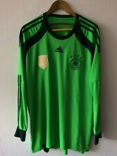 GERMANY 2014/2015 GOALKEEPER FOOTBALL SHIRT JERSEY ADIDAS SIZE XL