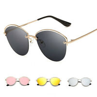 Vintage Retro Womens Aviator  Metal Frame Sunglasses Eyeglasses Eye Glasses
