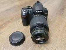 Nikon D3000 10.2 MP digital SLR camera with Nikon DX AF-S 55-200MM lens