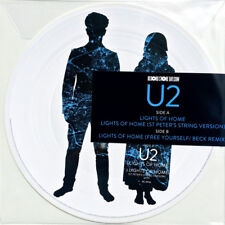 "U2 ‎- Lights Of Home 12"" Picture Disc Vinyl LP Album - RECORD STORE DAY 2018 RSD"