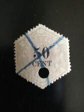 Nederland, Telegram Nr. 9, Mooie Zegel met gave Achterzijde, Fraai