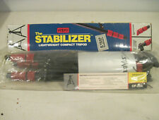 Vidpro The Stabilizer Lightweight Compact CP-202 Tripod VINTAGE ORIGINAL BOX
