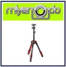 Manfrotto Befree One Travel Tripod (Red) MKBFR1A4R-BH