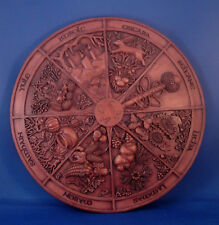 Wheel of the Year Plaque Pagan Holidays Wall Sabbats by Mickie Mueller #WYP