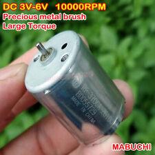 MABUCHI RF370CA-26100 Motor Precious Metal Brush DC3V-6V Large Torque Mute Motor
