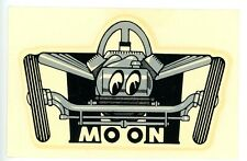 Vintage 60's Moon Equipment/Mooneyes Water Slide Decal,Hot Rod,Drag Racing,Nhra