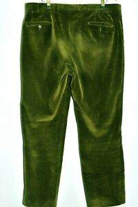 """SUPERB MAGEE CORD CORDUROY TROUSERS  W 40"""" L 31.5"""" DARK GREEN"""