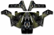 Polaris RZR 800 UTV Wrap Graphics Decal Kit 2007 2010 Reaper Revenge Olive Green