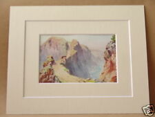 THE COUPEE SARK VERY RARE VINTAGE DOUBLE MOUNTED PRINT 1930 10X8 OVERALL