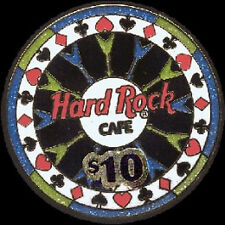 Hard Rock Cafe ONLINE 2002 $10 Poker Casino Chip PIN HRO On-Line Exclusive