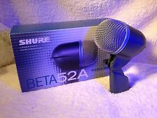 SHURE Beta 52A Kick Drum/Bass Cab Mic! Amazing condition!