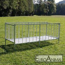 PATURA Großballenraufe für Schafe Ziegen 38 Fressplätze / Schafraufe / Heuraufe
