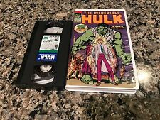 The Incredible Hulk The Power Of Dr. Banner Rare VHS! Marvel Classic Videos 1968