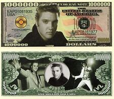 Elvis Presley Million Dollar Novelty Money