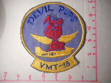 US VMT-8 Devil Pups With Devil Pup Wings Hand Made Vintage Patch  b-1