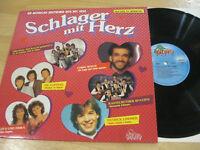 LP Schlager mit Herz Die Flippers Gitte & Erika Denise Vinyl Dino Music 2471