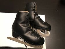 American Athletic Figure Skates Black Size 2  Ice skates