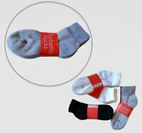 Diabetic non binding quarter ankle socks Loose fit (10-13 Gray) - 3 pairs