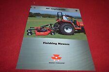Massey Ferguson 1750 1760 1751 1761 1771 Finish Mower Dealer's Brochure YABE12