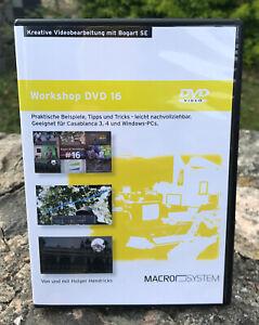 !!NEU!! Casablanca Workshop-DVD 16  - UHD-Collection - PiP-Studio4 - QuadCam3 !!