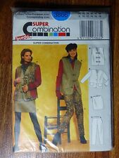 Burda Super Combination Sewing Pattern 3866 Size 8-18 UNCUT Ladies Full Outfit