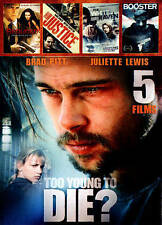 Too Young to Die/Seduced/Street Corner Justice/The White Raven/Booster (DVD,