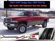 1994-1997 DODGE RAM 1500 2500 3500 FACTORY BODY SIDE MOLDING FACTORY STYLE