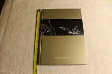 BAUME AND MERCIER 2007 WATCH CATALOG/BOOK timepieces. 103 pages. New.