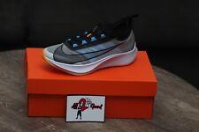 Nike Zoom Fly 3 White Black University Blue AT8240-102 Men's 7 Running Shoes