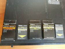 Various Roland R8 cartridges incl SN-R8-09 &SN-R8-04