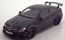 GT Spirit 2014 Mercedes Benz C63 AMG Black Series Black 1:18*New item!