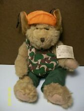 Russ Bears from the Past - Buck the Hunter Bear - Camouflage  ( with tag )