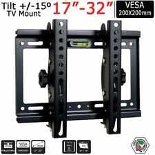 TV Bracket Wall Mount Tilt for 14 15 17 19 22 23 27 29 30 32 Inch Plasma LCD LED
