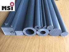 PVC Rundstab Hohlstab Vierkant Stab L 1000mm D 6-100mm grau Polyvinylchlorid