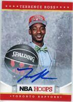 2012-13 Panini NBA Hoops #282 Terrence Ross Rookie Auto