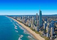 "QUEENSLAND AUSTRALIA NEW A4 CANVAS GICLEE ART PRINT POSTER 11.7""x8.3"""